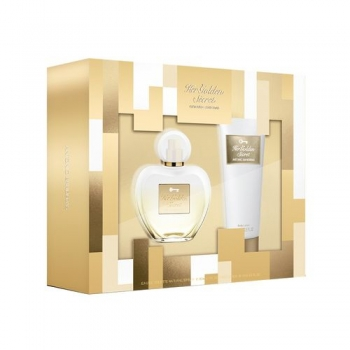 imagem Conjunto Her Golden Secret Antonio Banderas - Eau de Toilette 80ml + Loção Corporal 75ml