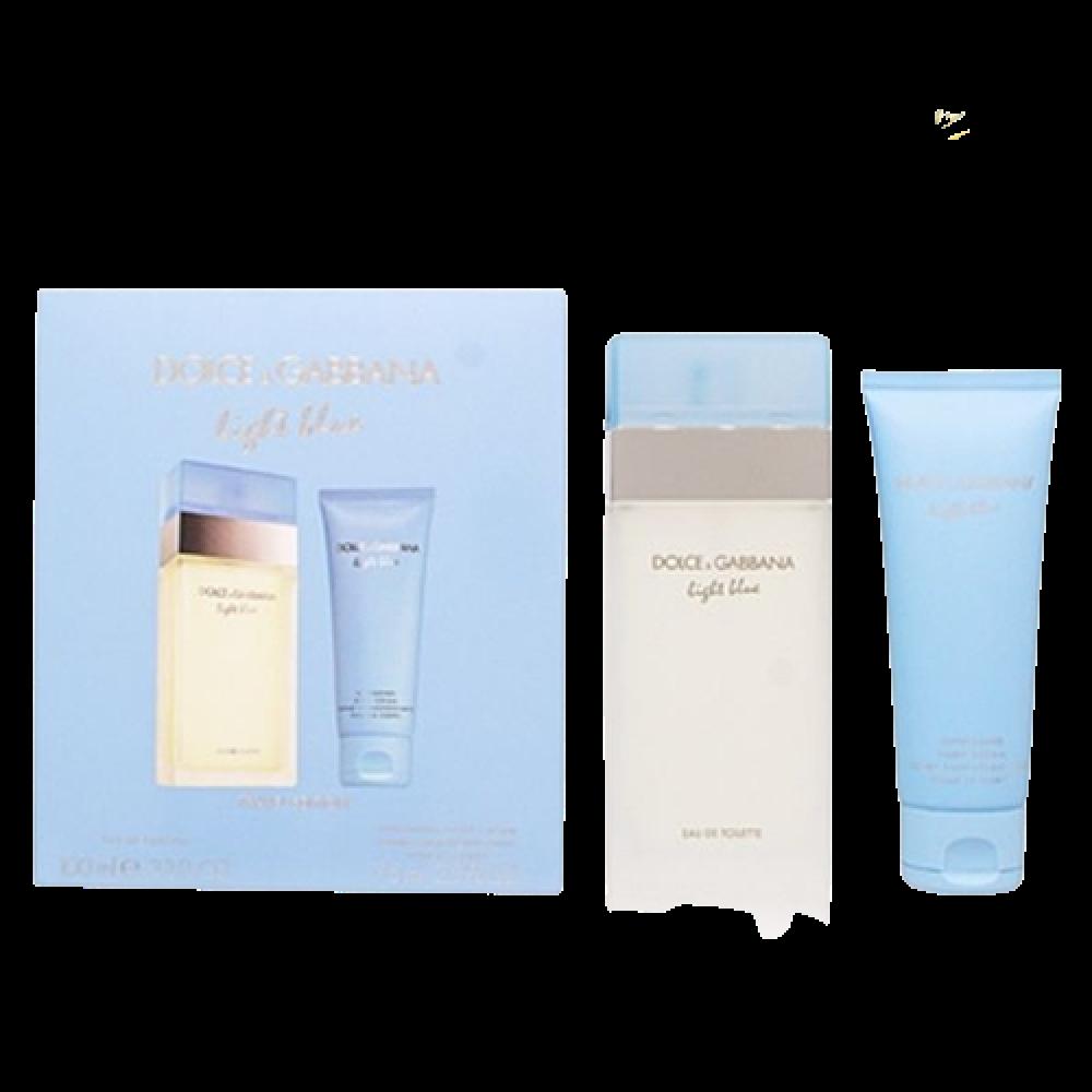 imagem Kit Light Blue Dolce & Gabbana Eau De Toilette Spray 100 Ml + Creme Corporal 75 Ml