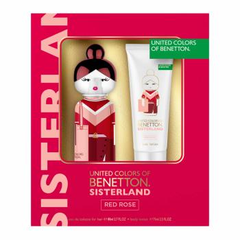 imagem Kit Benetton Sisterland Red Rose Eau de Toilette + Body Lotion 80ml