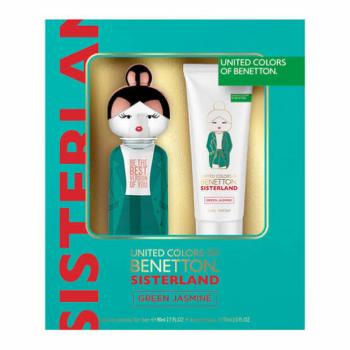 imagem Kit Benetton Sisterland Green Jasmine Eau de Toilette + Body Lotion 80ml