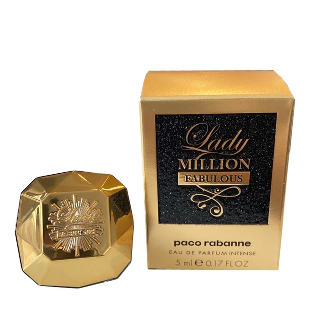 imagem Miniatura Lady Million Fabulous Paco Rabanne Eau de Parfum - 5 ml