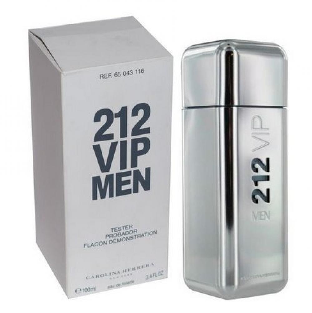 imagem 212 VIP Men Carolina Herrera Eau de Toilette - Perfume Masculino 100ml (tester)