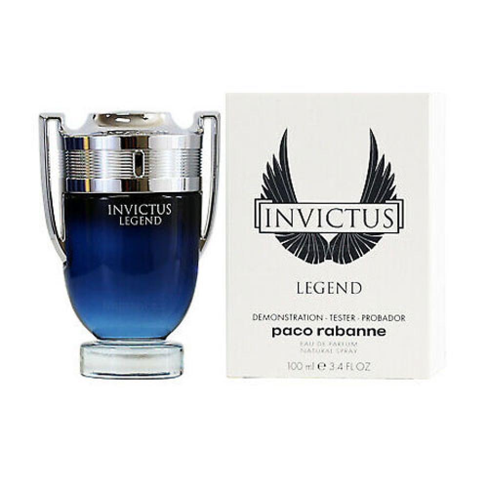 imagem Invictus Legend Paco Rabanne Eau de Parfum - Perfume Masculino 100ml (tester)