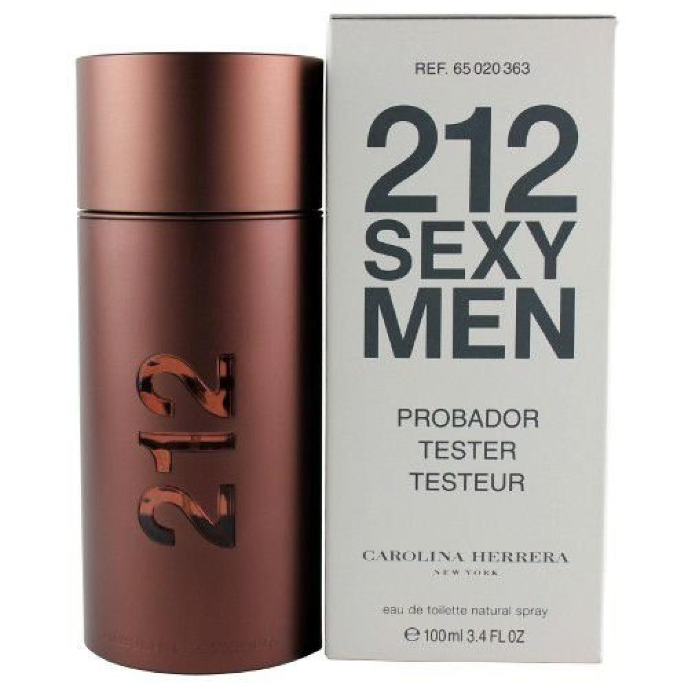 imagem 212 Sexy Men Carolina Herrera Eau de Toilette 100ml (tester)