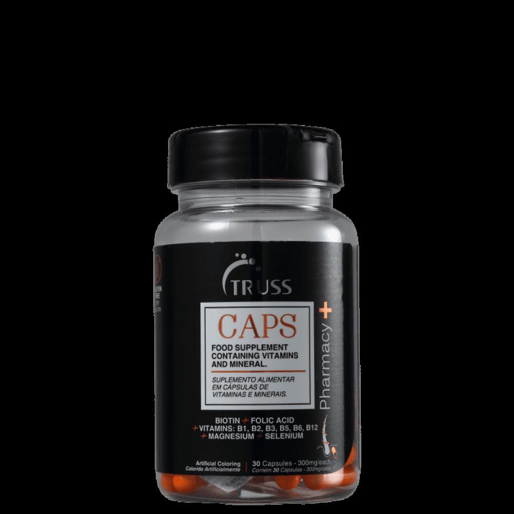 imagem Truss Pharmacy+ Caps - Suplemento Alimentar (30 Cápsulas)