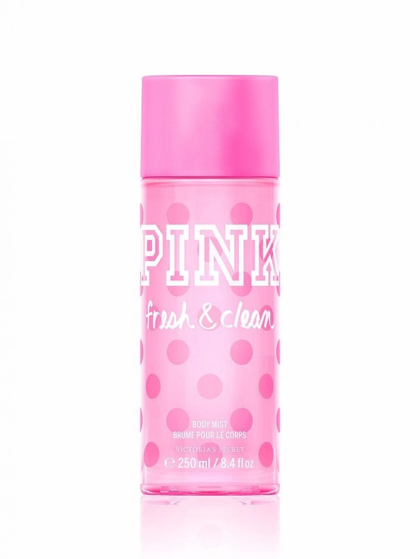imagem Pink Victoria's Secret Body Splash Fresh & Clean 250 ml