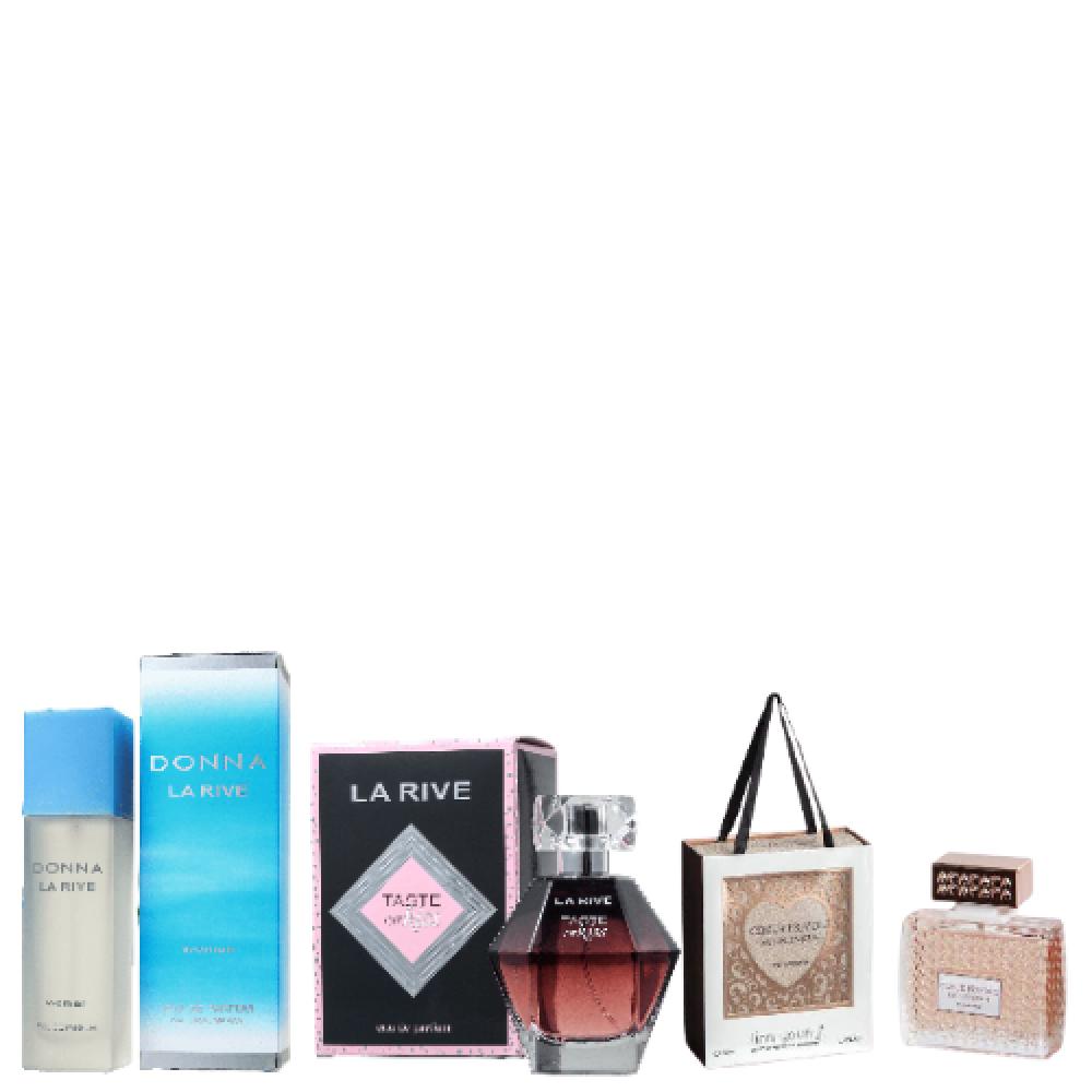 imagem Combo de 2 Perfumes La Rive  + Coeur Frivole Linn Young - Perfume Feminino