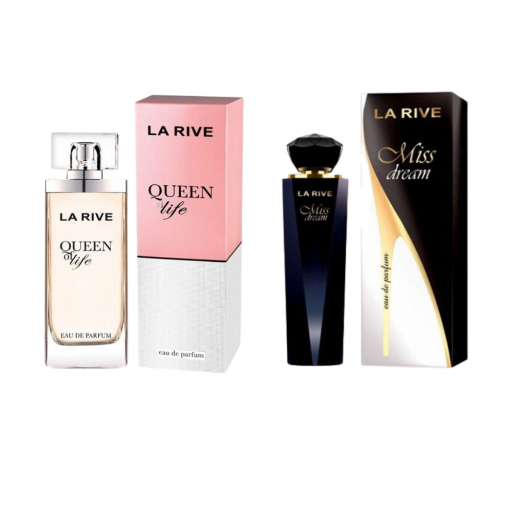 imagem Combo 2 perfumes Miss Dream 100ml  + Queen of life 75ml Edp - La Rive Feminino