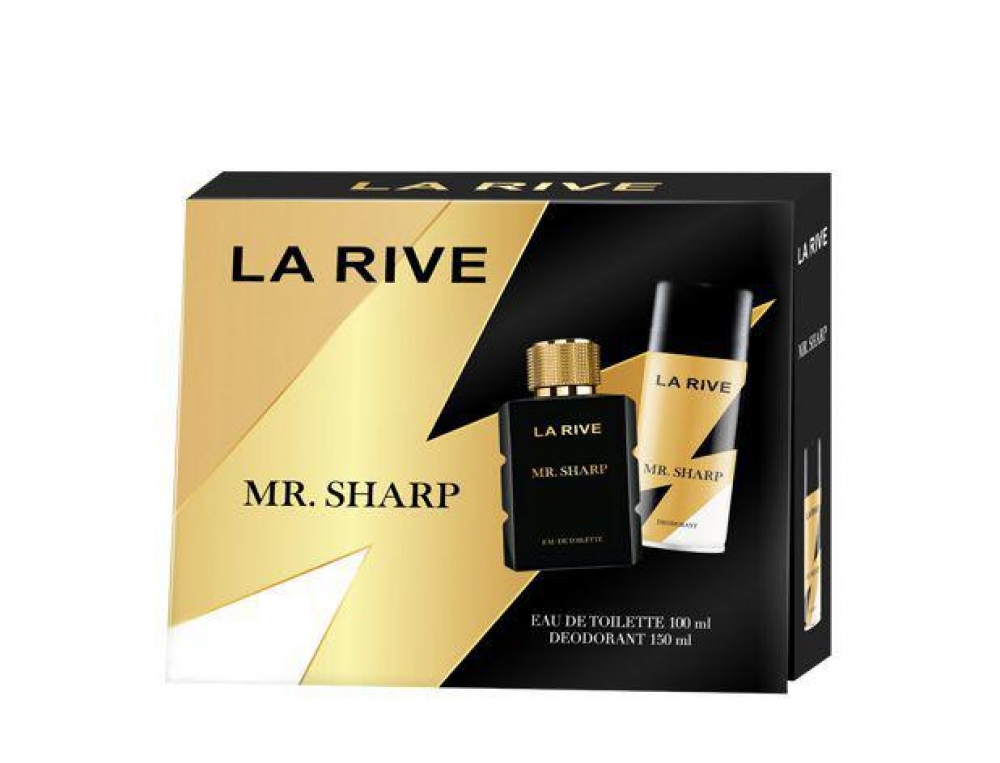 imagem Conjunto La Rive Mr. Sharp - Eau de Toilette 100ml + Desodorante 150ml