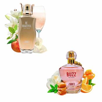 imagem Combo 2 perfumes Be Beautiful 100 ml + Buzz 100 ml I Scents