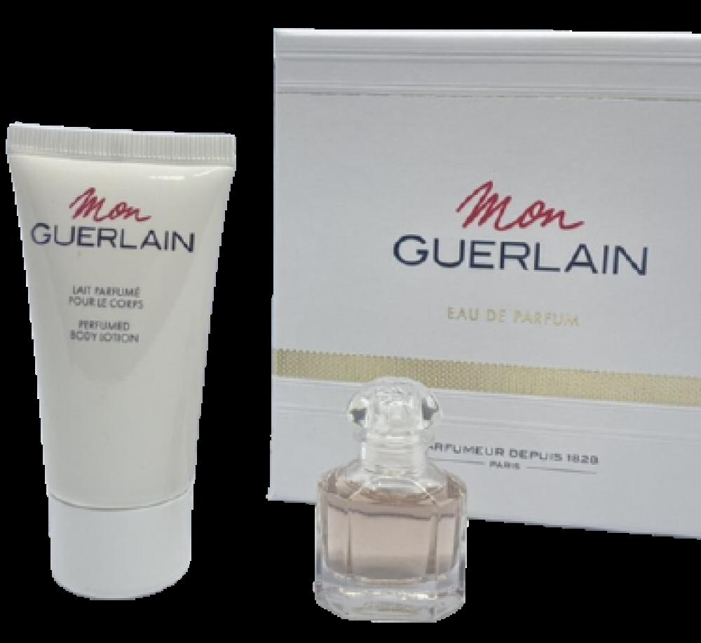 imagem Conjunto Guerlain Mon Feminino - Eau de Parfum 5 ml + Loção Corporal 20ml