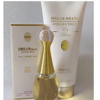 imagem Kit Hidratante Corporal 200 ml + perfume 25 ml - Brand Collection 007 - Inspiração J'adore