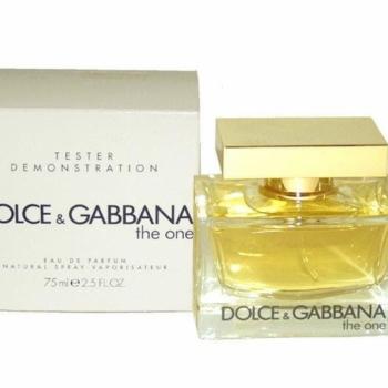 imagem The One Dolce & Gabbana Eau de Parfum - 75 ml (Tester)