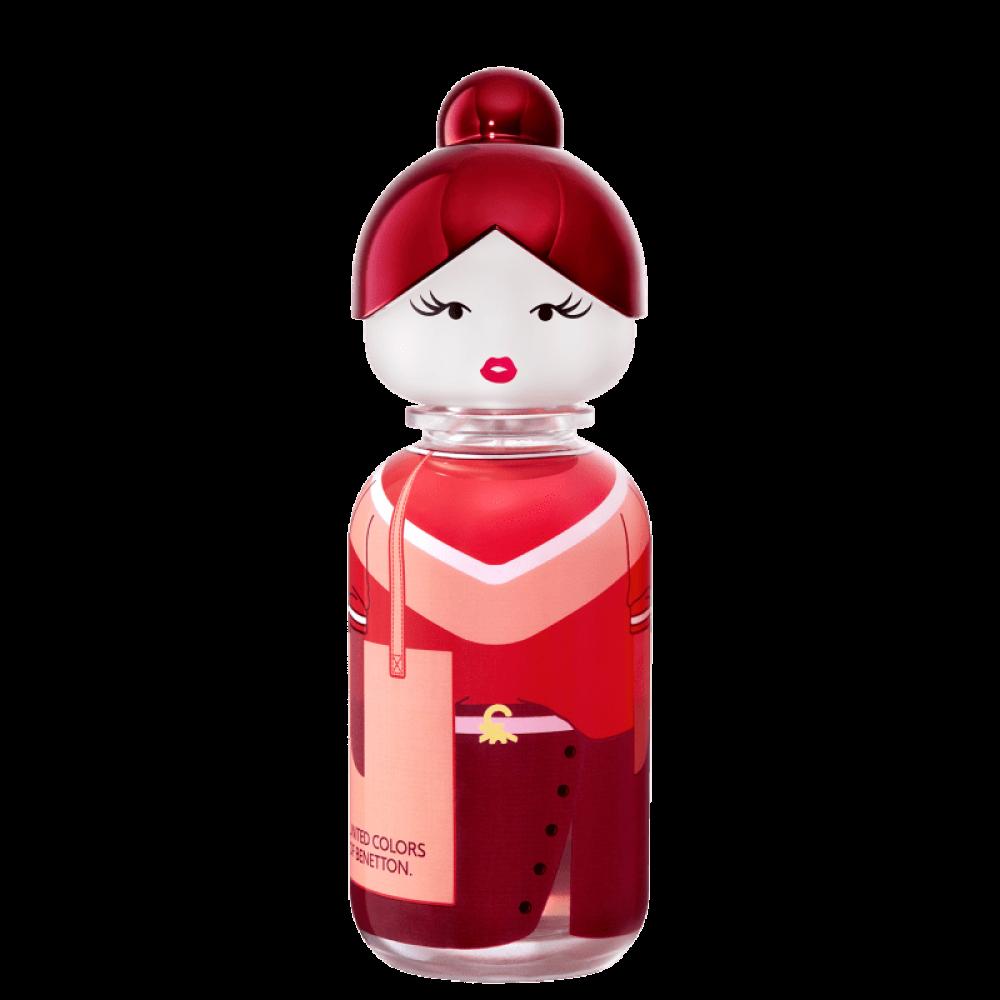 imagem Sisterland Red Rose Benetton Eau de Toilette - Perfume Feminino 80ml