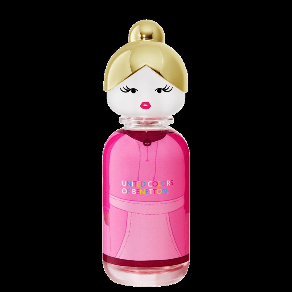 imagem Sisterland Pink Raspeberry Benetton Eau de Toilette - Perfume Feminino 80ml
