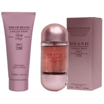 imagem Kit Hidratante Corporal 200 ml + perfume 25 ml - Brand Collection 194 - Inspiração 212 Sexy