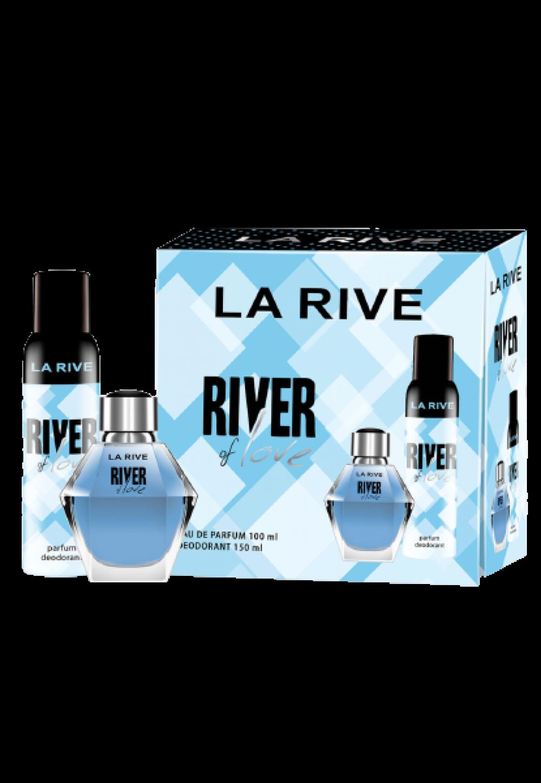 imagem Conjunto River of Love La Rive Feminino - Eau de Parfum 100ml + Desodorante 150ml