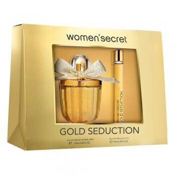 imagem Women' Secret Golden Seduction Kit - Eau de Parfum + Roll On
